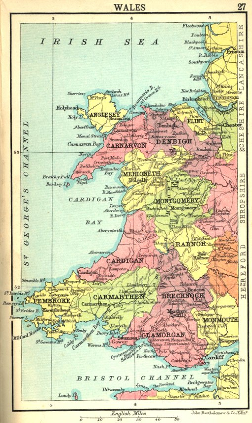 Opinions on Historic counties of Wales